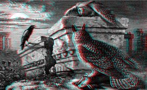 Owls 3-D conversion by MVRamsey