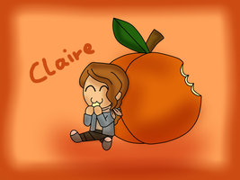 PL fruit chibi - Claire by kenabe