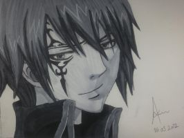 Fairy Tail - Jellal by Xiilch