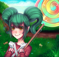 League of Legends - Lollipoppy by maryfraser