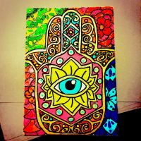 Just a Little Hamsa by lexiefromtexie