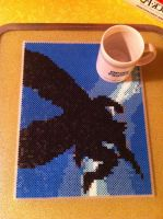 Dark Knight perler by 8bitEsh