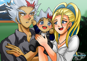 Comission: Ryuga Family by Mary-McGregor
