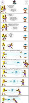 Elemental Tales:  Comic 8 by BakerChemi