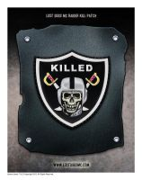 Lost Dogs MC Patch for killing a raider by yolkum
