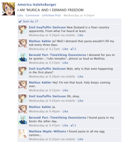 Hetalia Facebook: America and His Freedom by gilxoz-epicness