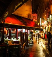Rainy Night in Paris 2 by superflyninja