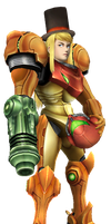 Samus is a Gentlewoman by Gentlemanly