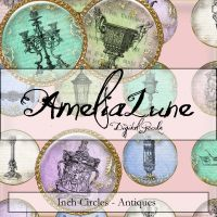 Antiques inch circles by AmeliaLune
