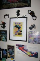 My Tron Wall by The-End-Inc