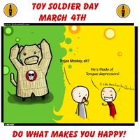 Toy Soldier Day 2008 number 2 by Thilath