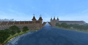 Minecraft Medieval Drawbridge by Lil-Lintu