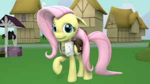 Equestria's Judgment: Fluttershy by FD-Daylight
