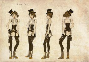 Steampunk Female by lyles
