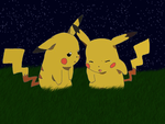 Pikachu vs Pikatwo by azure-mew