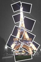 Eiffel tower by RoseCS