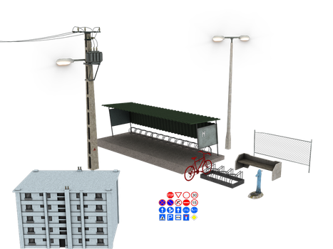 some items I've been working on by Wampa842