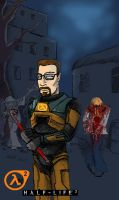 Gordon Freeman by neron1987