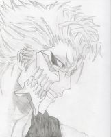 Grimmjow by w3ph