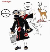 Kakuzu Hidan lol by Jashinnkyo