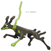 Zygarde 10% Forme by MegaRezfan