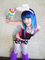 Leda- Blue Hair by LedaMonsterBunnyLove
