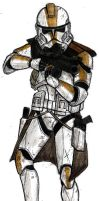 327th Star Corps clone trooper by NDTwoFives