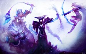 League of Legends Rivals: Freljord's Finest by AthavanArt