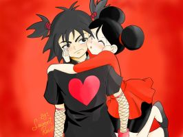 Garu And Pucca Anime By Laurent Rasch Lalen8 by lalen8