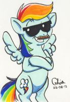 Rainbow Stache by BD-Ghis