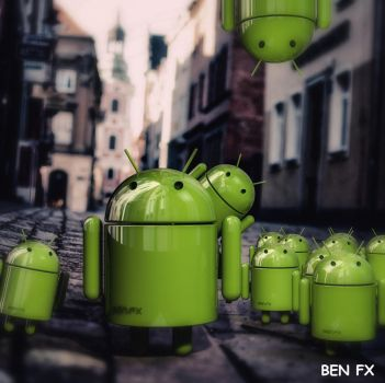 Android in Italien  by BenC4D