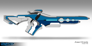 Asari Oracle Sniper Rifle by cheezanator48