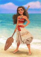 I Am Moana by djeffers123