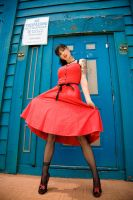 My Red Pin-Up by PhotosByPriapus