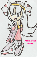 Albino the Alien by Ivy-Cresent73192