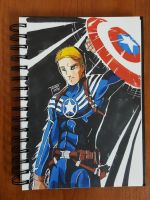 Day 110 Captain America by TomatoStyles