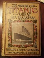 Titanic book from 1912 by fatthoron