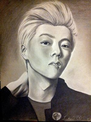 Luhan by EclecticNinja