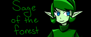 Sage of the Forest Temple by 2skitty2