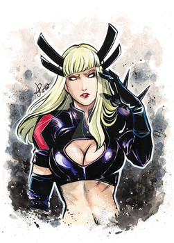 Commission- Magik by Darboe