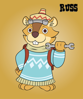 Russ by Yoshistar-Baxter