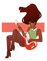 Jade: Play Hauntingly Relaxing Bass Line by francywork
