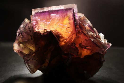 Fluorite 'Sunset' by bmah