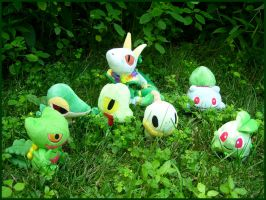Grass Type Party by Fishlover