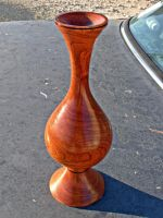 Tall Mesquite Vase by sakuraknight2000