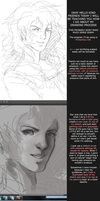 Grayscale Coloring and Painting: How I Draw by Dragons-Roar