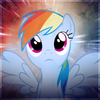 Rainbow Dash avatar request by SandwichDelta