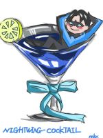 Nightwing Cocktail by Maxineisreallydead