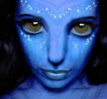 Na'vi Girl by BellalyseWinchester