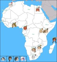 APH: Map of Africa by jjblue1